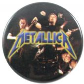 Metallica - 'Stage Black' Button Badge